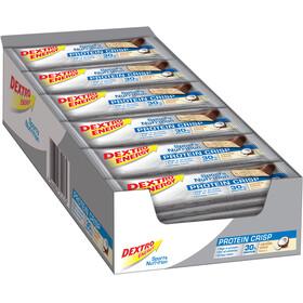 Dextro Energy Protein Crisp Box 24x50g, Vanilla-Coconut